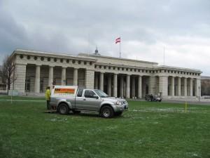Rammsondierungen, Heldenplatz Wien